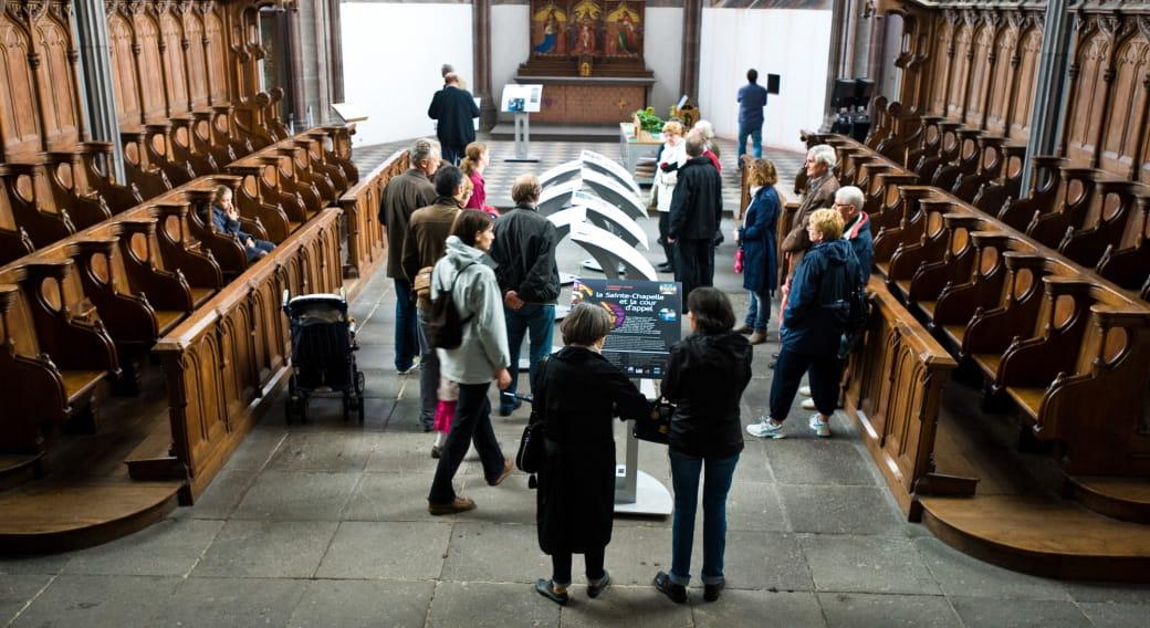 Un monument à la loupe : La Sainte-Chapelle