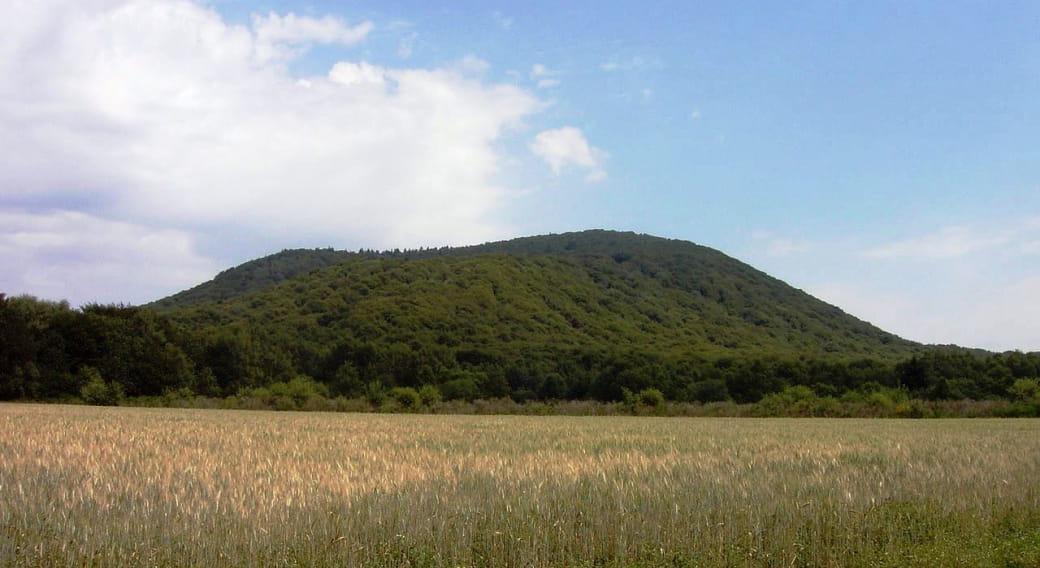 Le puy de Louchadière (vue depuis le village de Beauregard)