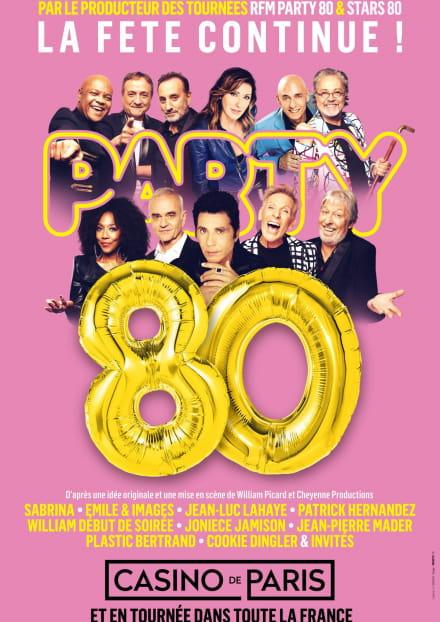Party 80 - Concert au Prisme