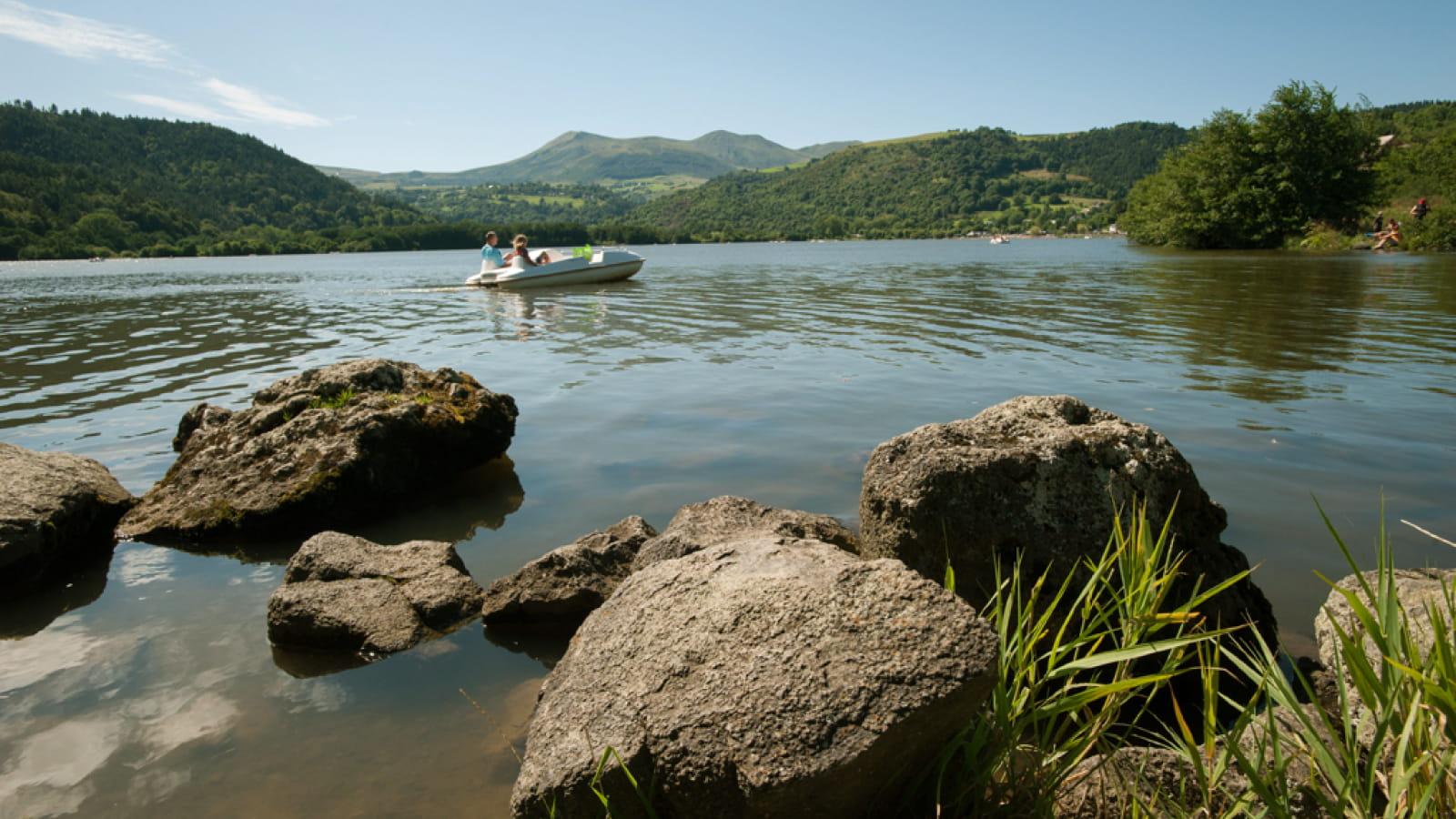 Le tour du lac Chambon - Les balades de Léa et Tino
