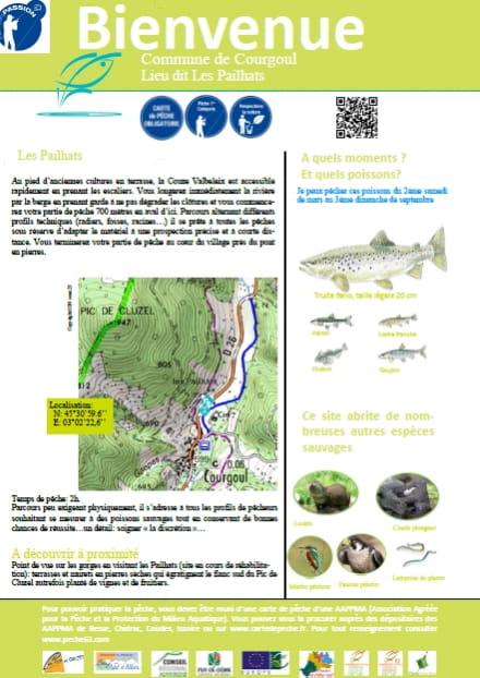 Parcours pêche passion : les Pailhats