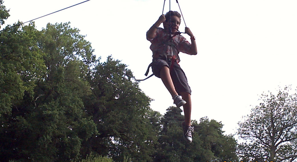 Lezoux aventure : le parc aventure