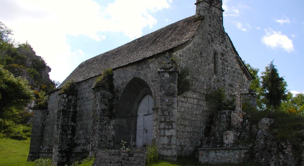 La chapelle à l'extérieur
